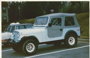 My first Jeep - '79 CJ-7.  Don't judge. :-)