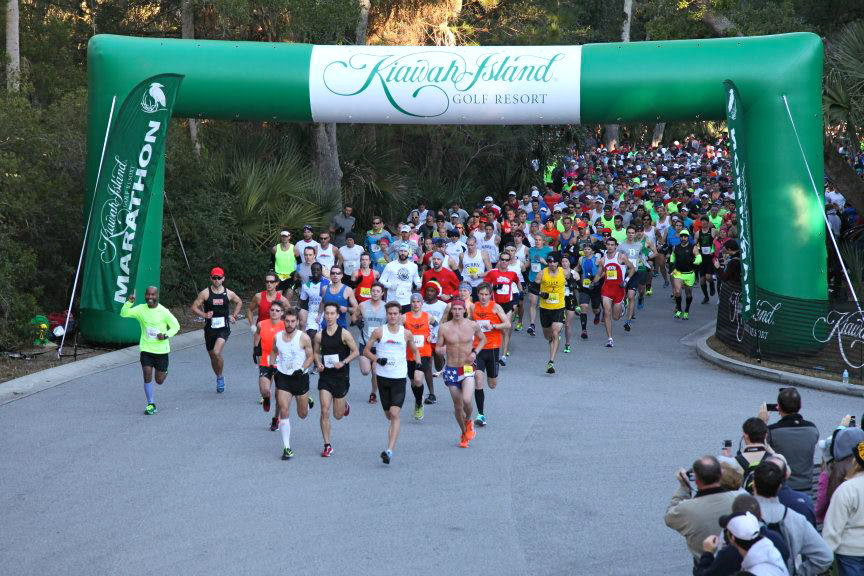 Race Start 2014.  Photo courtesy of Kiawah Island Resort